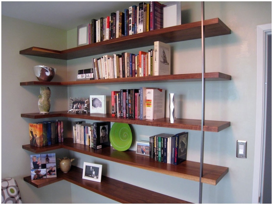 L Shaped Bookcases Intended For Best And Newest L Shaped Bookshelves Wall Shelf Shelves Uk Corner Floating 5 (View 7 of 15)