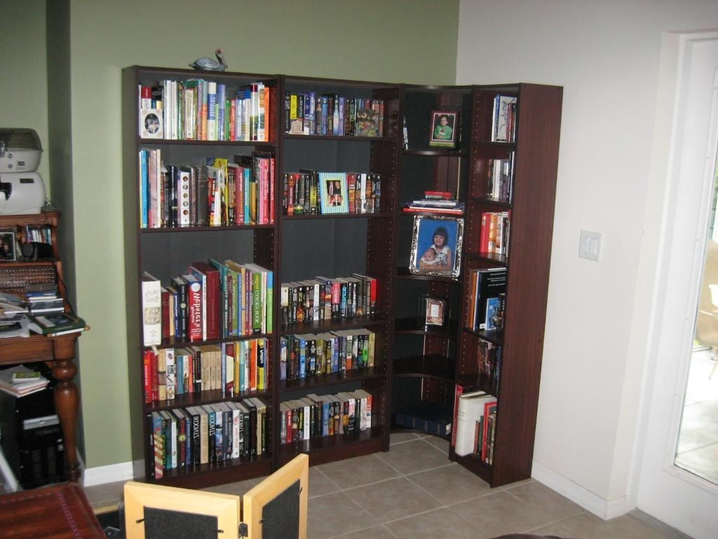 L Shaped Bookcases Intended For Most Current Save Your Space With Wall Corner Bookshelves (View 8 of 15)