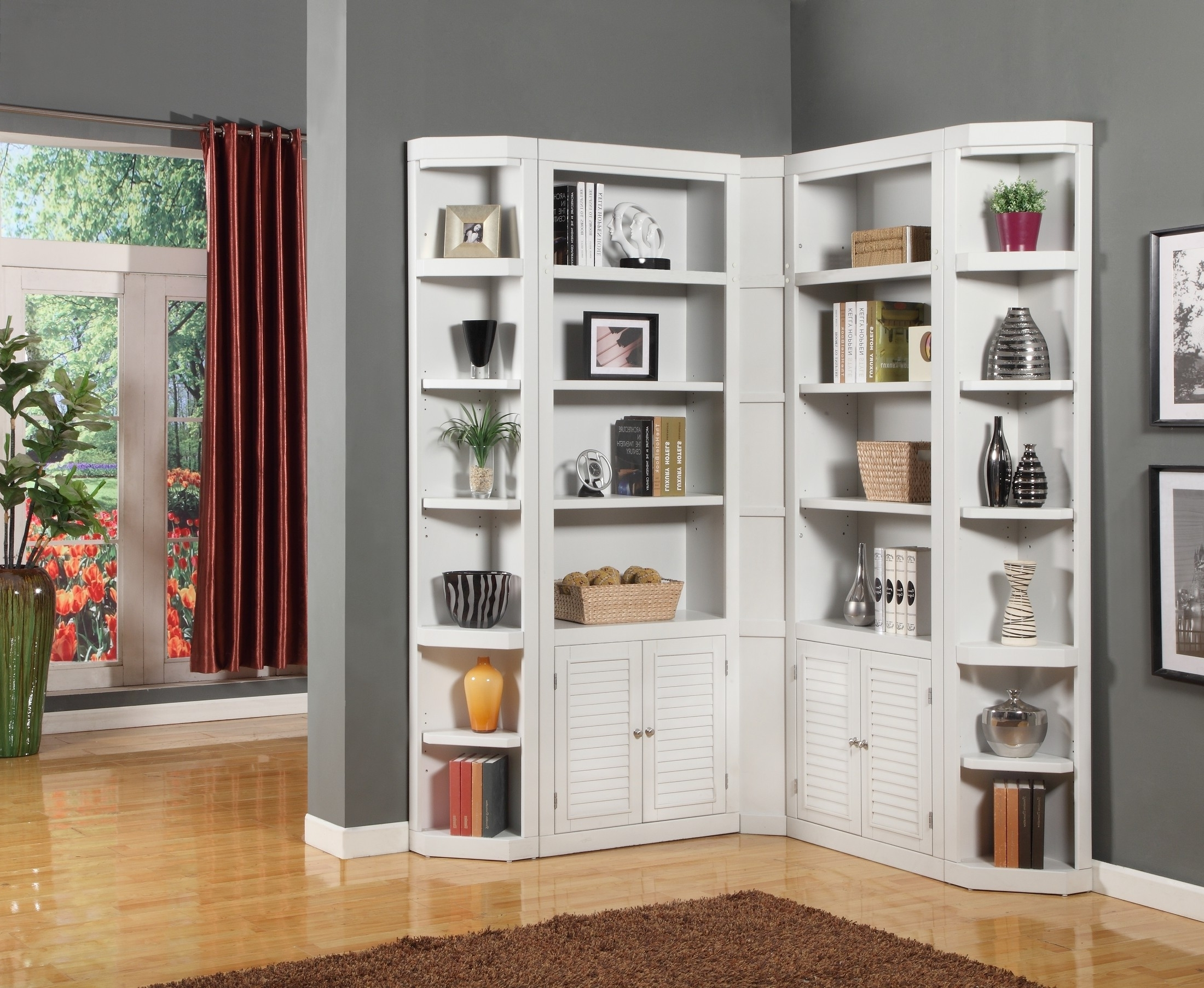 L Shaped Bookcases With Most Popular L Shaped Bookshelves Build Your Own Corner 19 Bookshelf Marvellous (View 5 of 15)