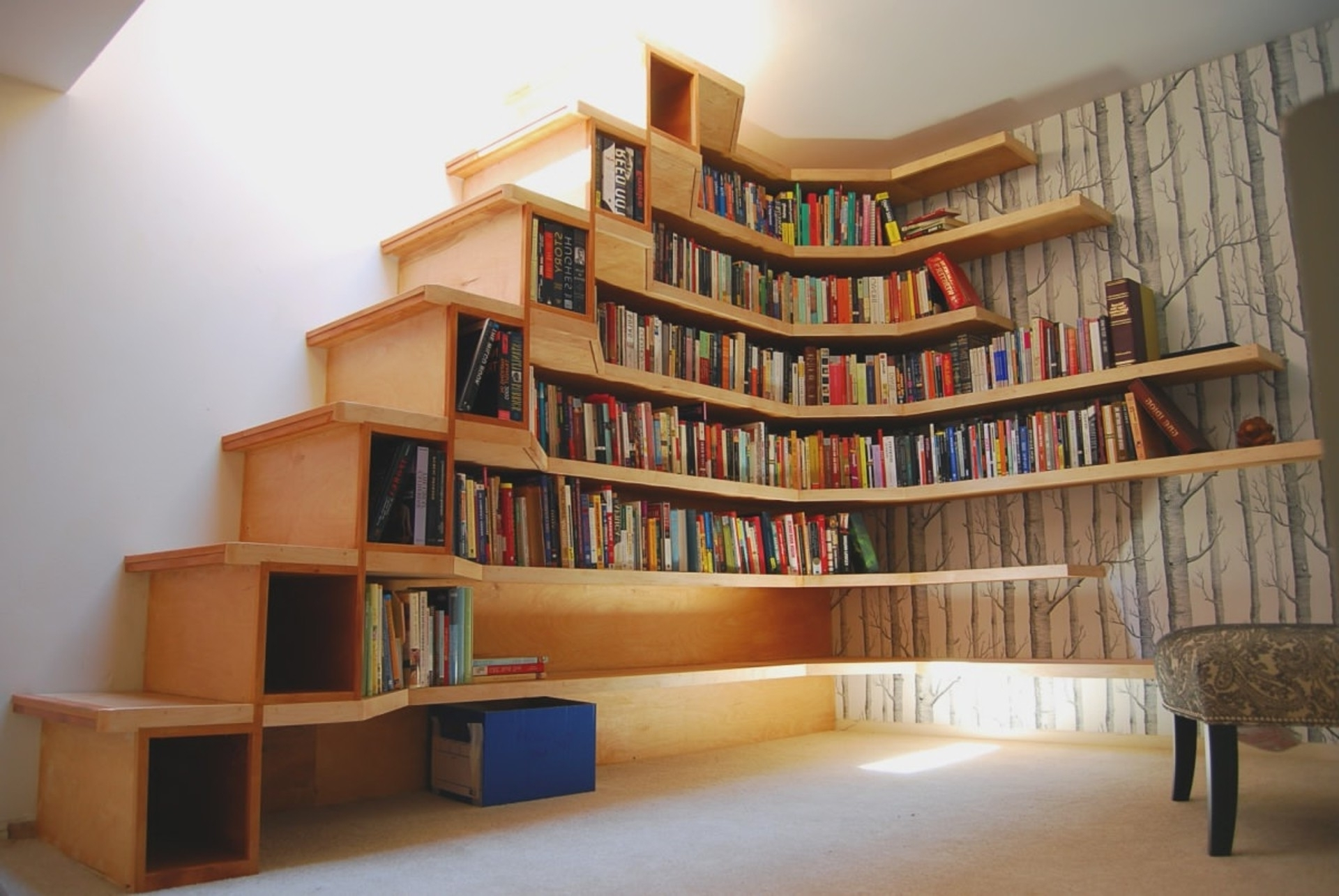 L Shaped Bookshelves Bookshelf Marvellous Bookcase Plans 13 For Preferred L Shaped Bookcases (View 9 of 15)