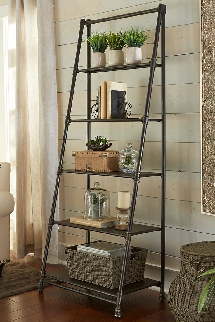 Ladder Bookcase Pertaining To Well Liked Ladder Shelves (View 4 of 15)