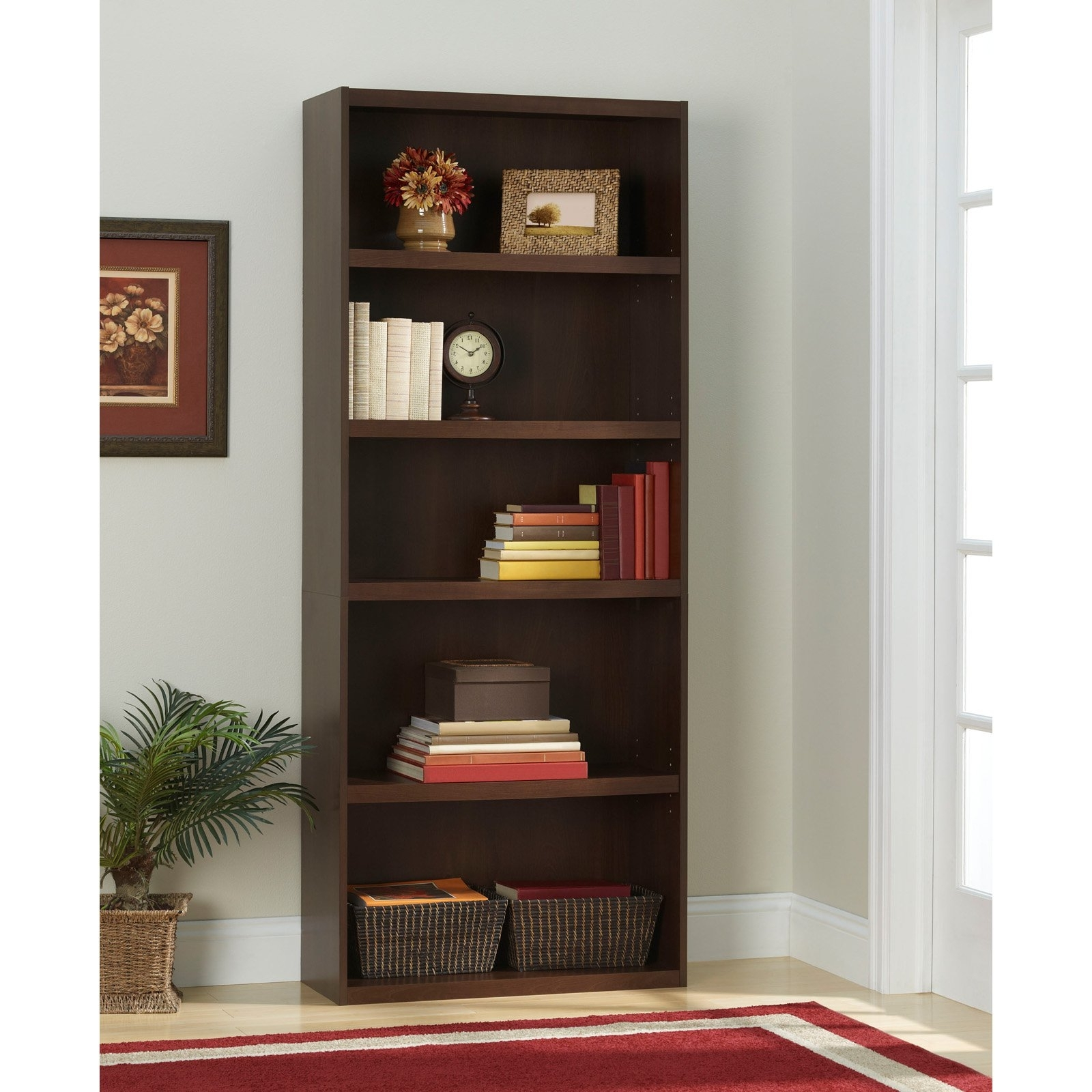 Latest Ameriwood 5 Shelf Bookcases For Ameriwood 5 Shelf Bookcase (View 5 of 15)