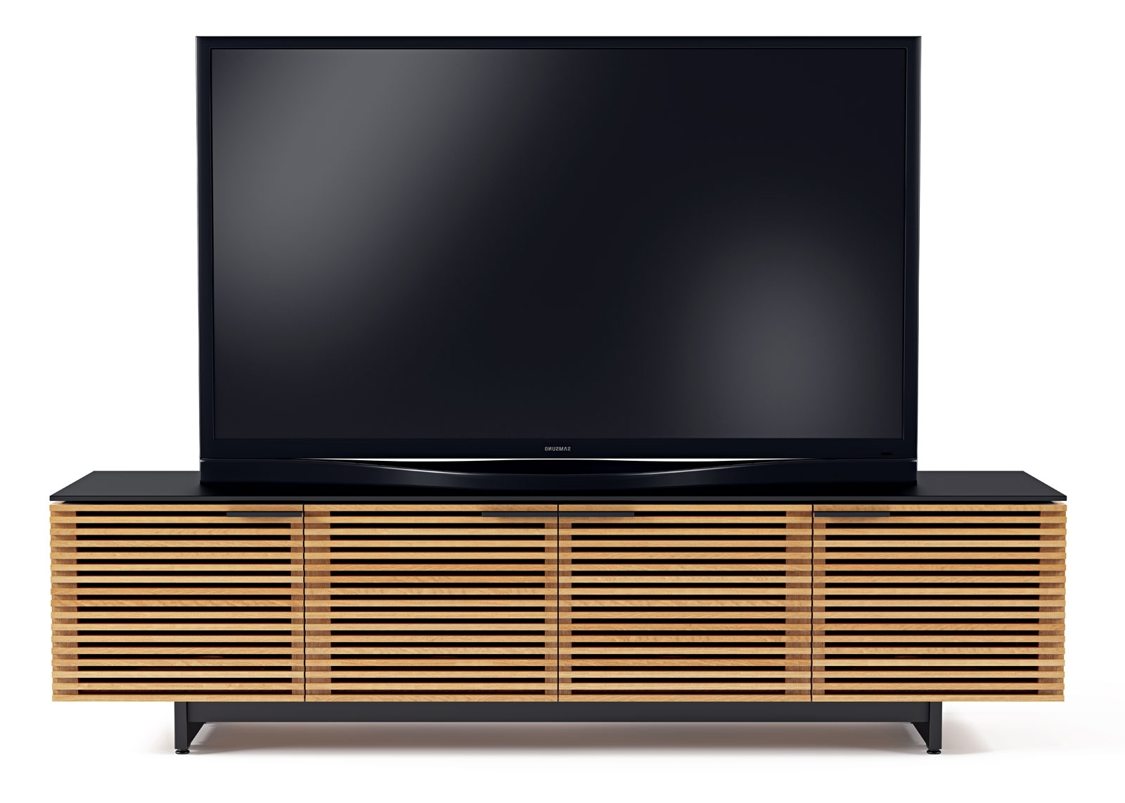 Latest Bdi Corridor 8173 Media Cabinet : Moss Furniture Pertaining To Low Media Unit (View 4 of 15)