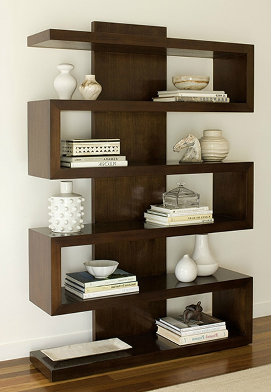 Latest Bookshelves Designs For Home Inside Contemporary Bookcases Design For Home Interior Furnishings (View 4 of 15)