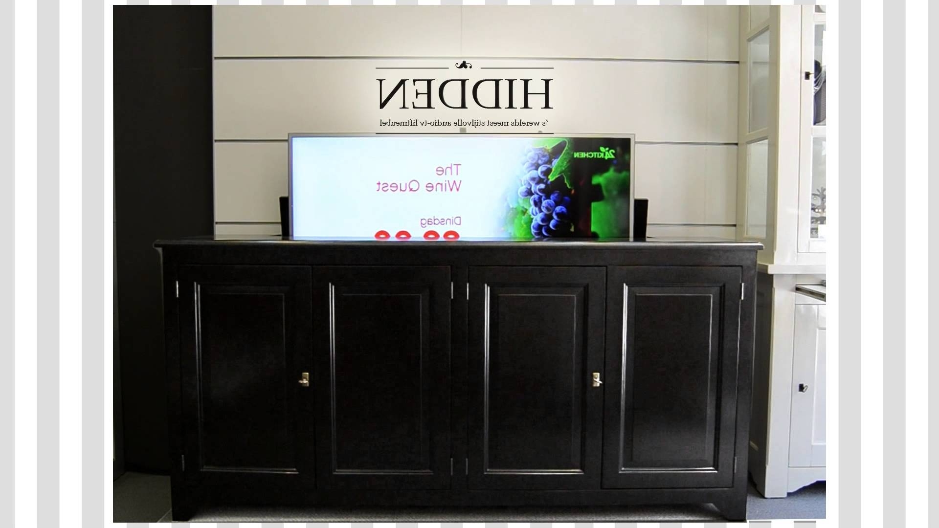 Latest Hidden Tv Units Intended For Bold Design Ideas Hidden Tv Furniture Best 25 Cabinet On Pinterest (View 7 of 15)