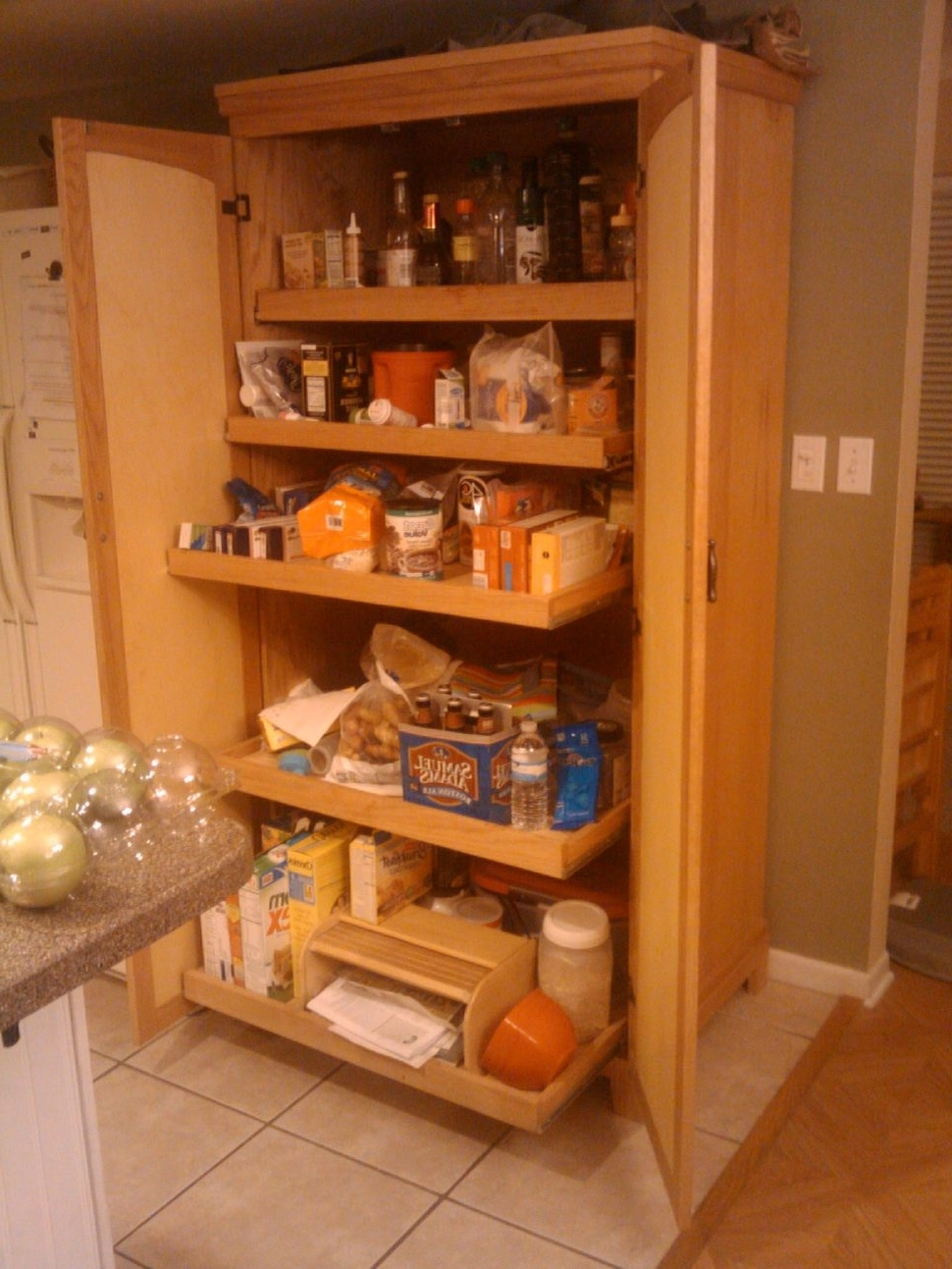 Latest Large Cupboard With Shelves Within Kitchen : Kitchen Storage Cabinets Small Kitchen Storage Ideas (View 7 of 15)