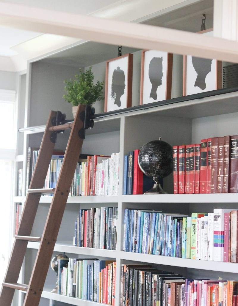 Latest Rolling Library Ladder (View 6 of 15)
