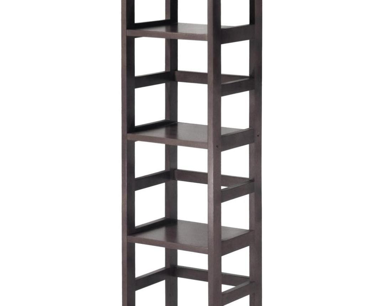 Latest Shelf : Awesome Deep Shelving Unit Large Raw Oak Shelf Ladder Love Inside Very Narrow Shelving Unit (View 8 of 15)