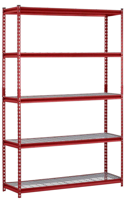 "Latest Storage Shelving Units Regarding Muscle Rack Ur301260Wd5 R 5 Shelf Steel Shelving Unit, 30"" Width X (View 4 of 15)"