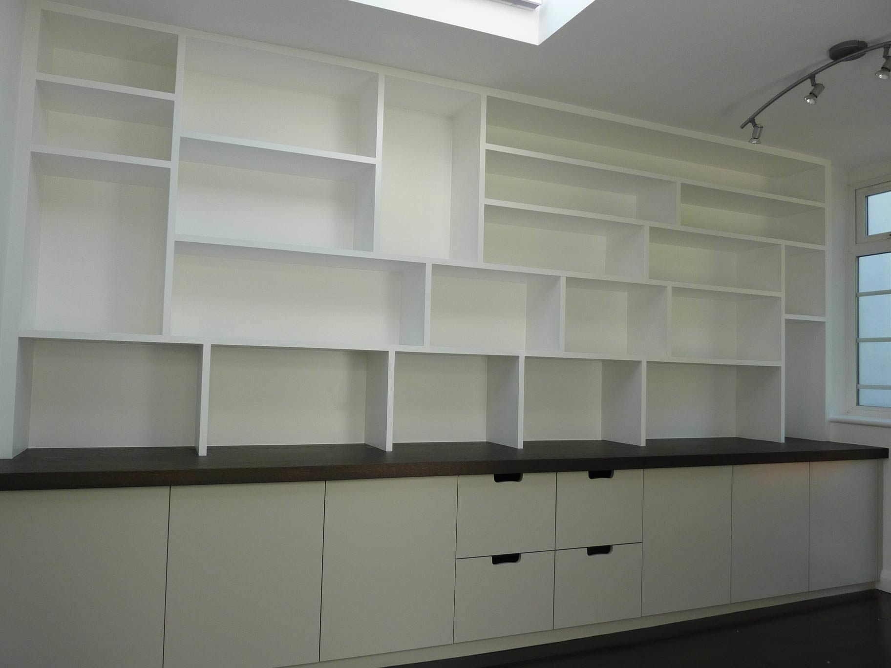 Latest Study Cupboards Regarding Fitted Study Cabinetry, Handmadepeter Henderson Furniture (View 8 of 15)