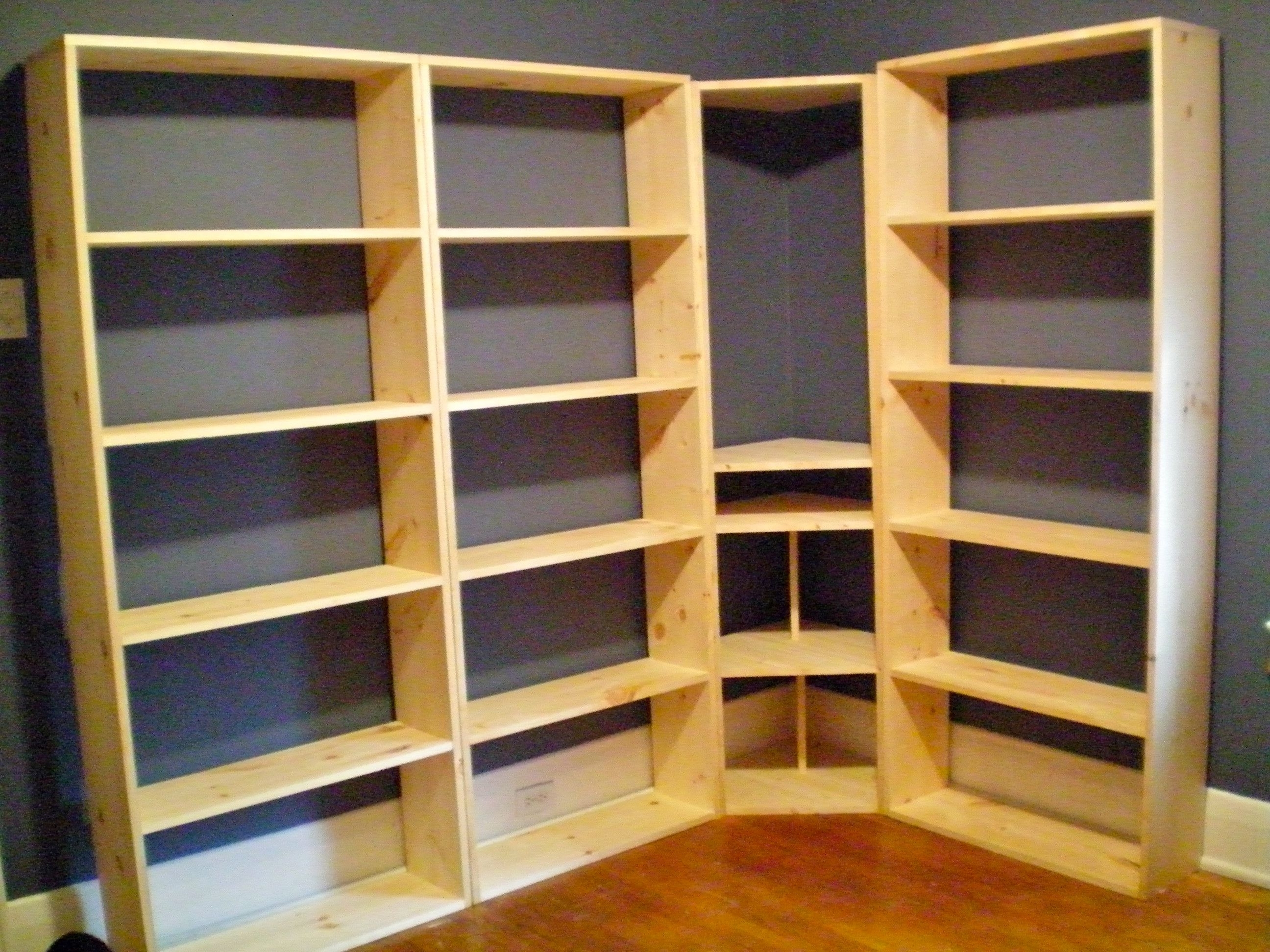Latest Whole Wall Bookshelves Pertaining To Ana White (View 5 of 15)