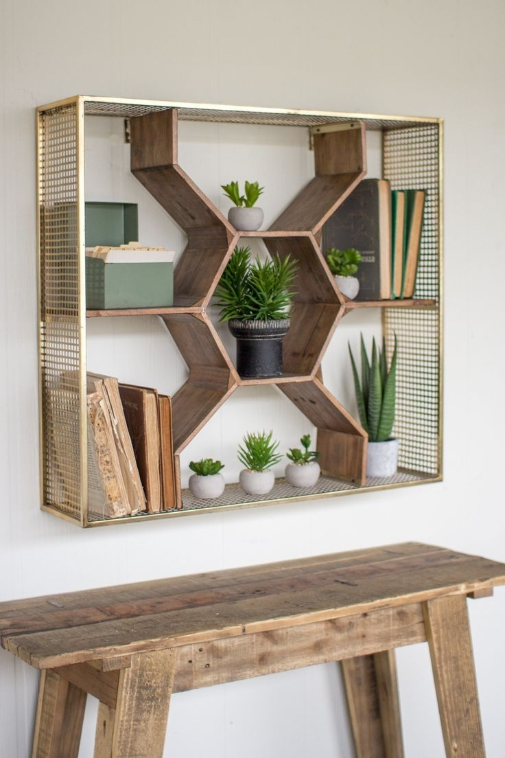 Latest Wooden Wall Shelves With Best 25+ Wooden Shelves Ideas On Pinterest (View 15 of 15)