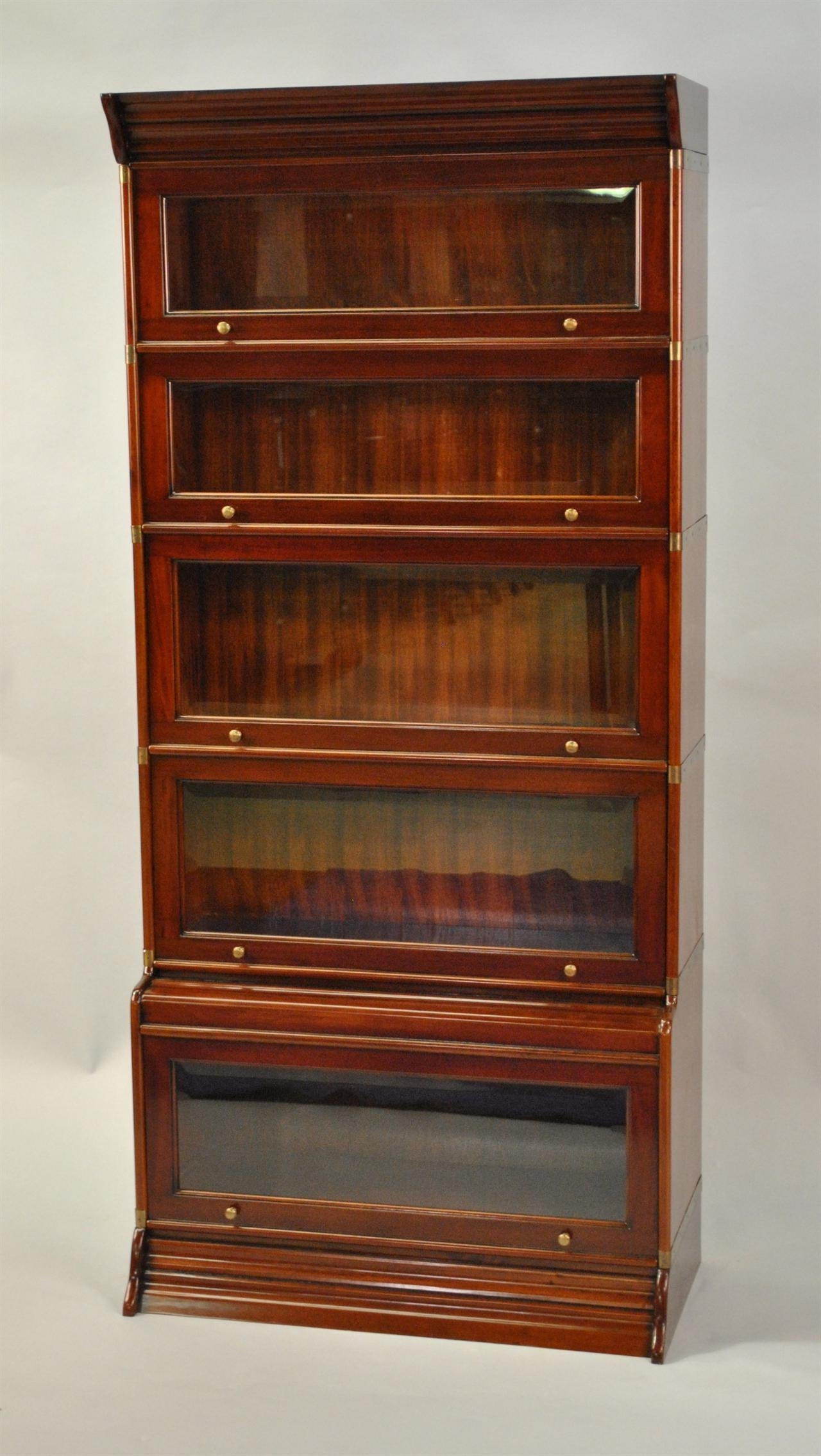 Lawyer Bookcases Intended For Best And Newest Reproduction Globe Wernicke Stacking Barrister Bookcase (View 10 of 15)