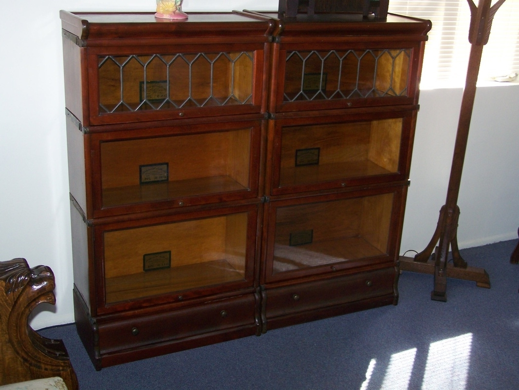 Lawyer Bookcases Within Most Recent Antique Lawyer / Barrister Bookcases That Have Sold & Found A New (View 11 of 15)