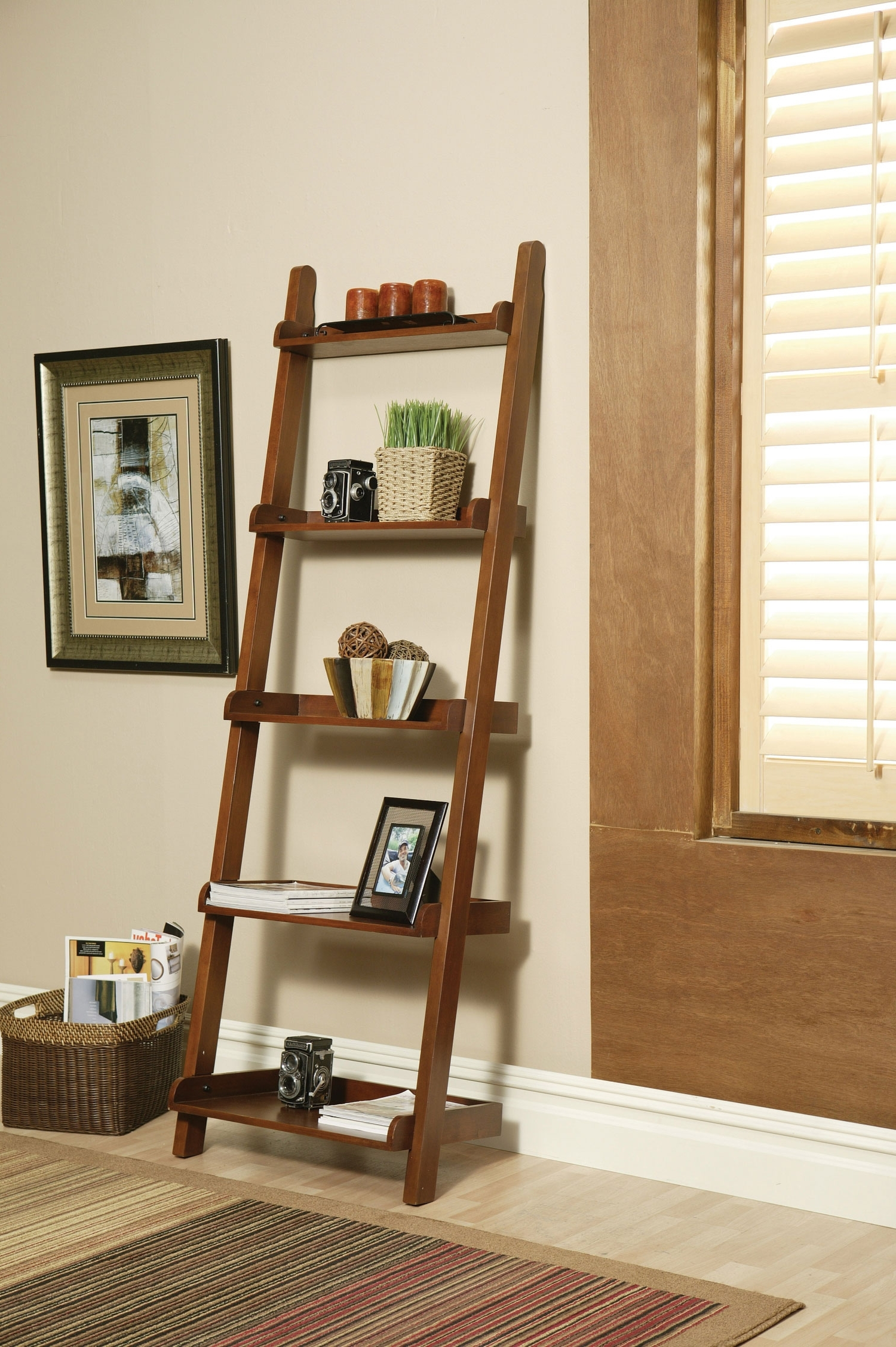 Leaning Bookcases With Regard To Newest Small Leaning Bookcase : Doherty House – How To Decorate Leaning (View 5 of 15)