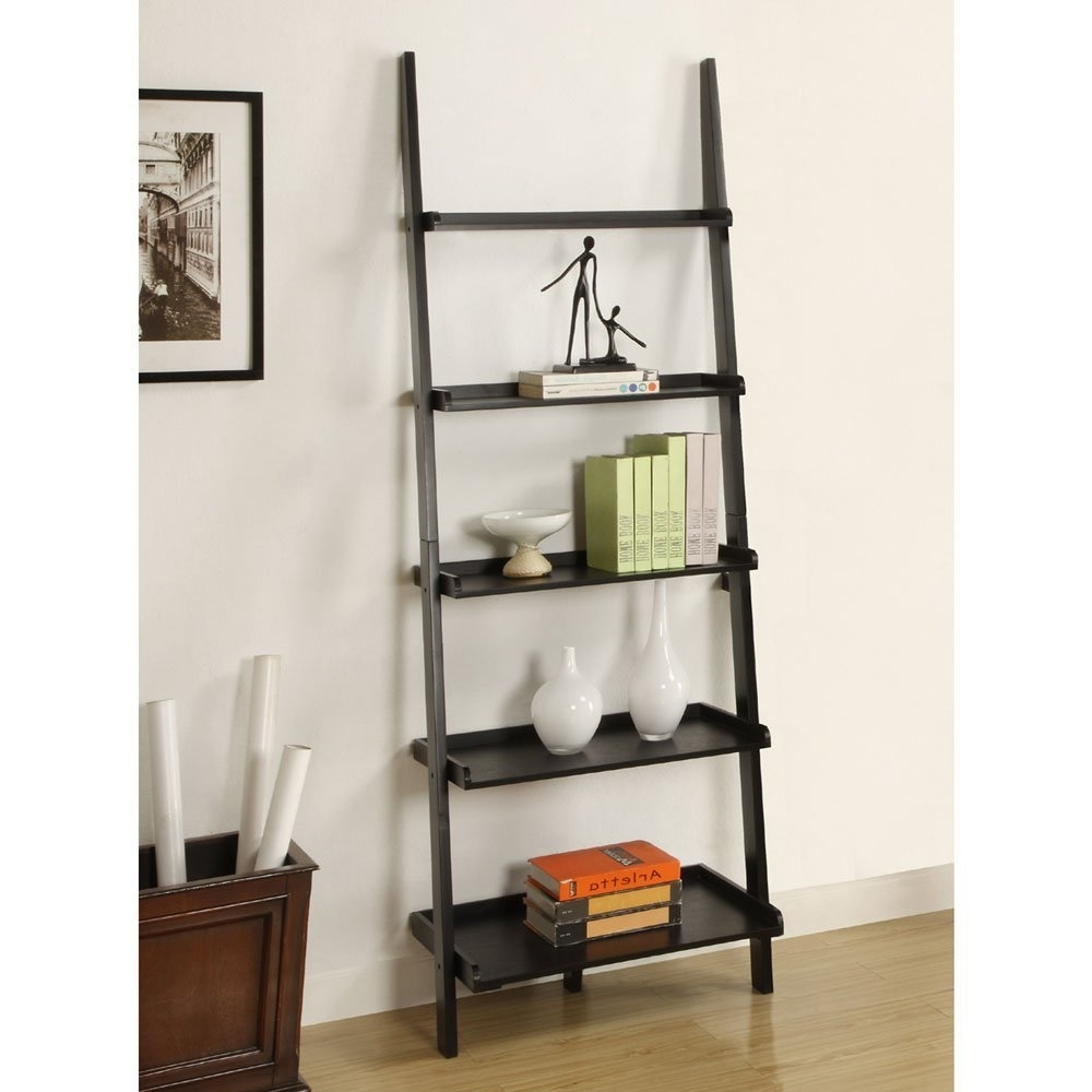 Leaning Ladder Bookcases In Well Known Best 22 Leaning Ladder Bookshelf And Bookcase Collection For Your (View 8 of 15)