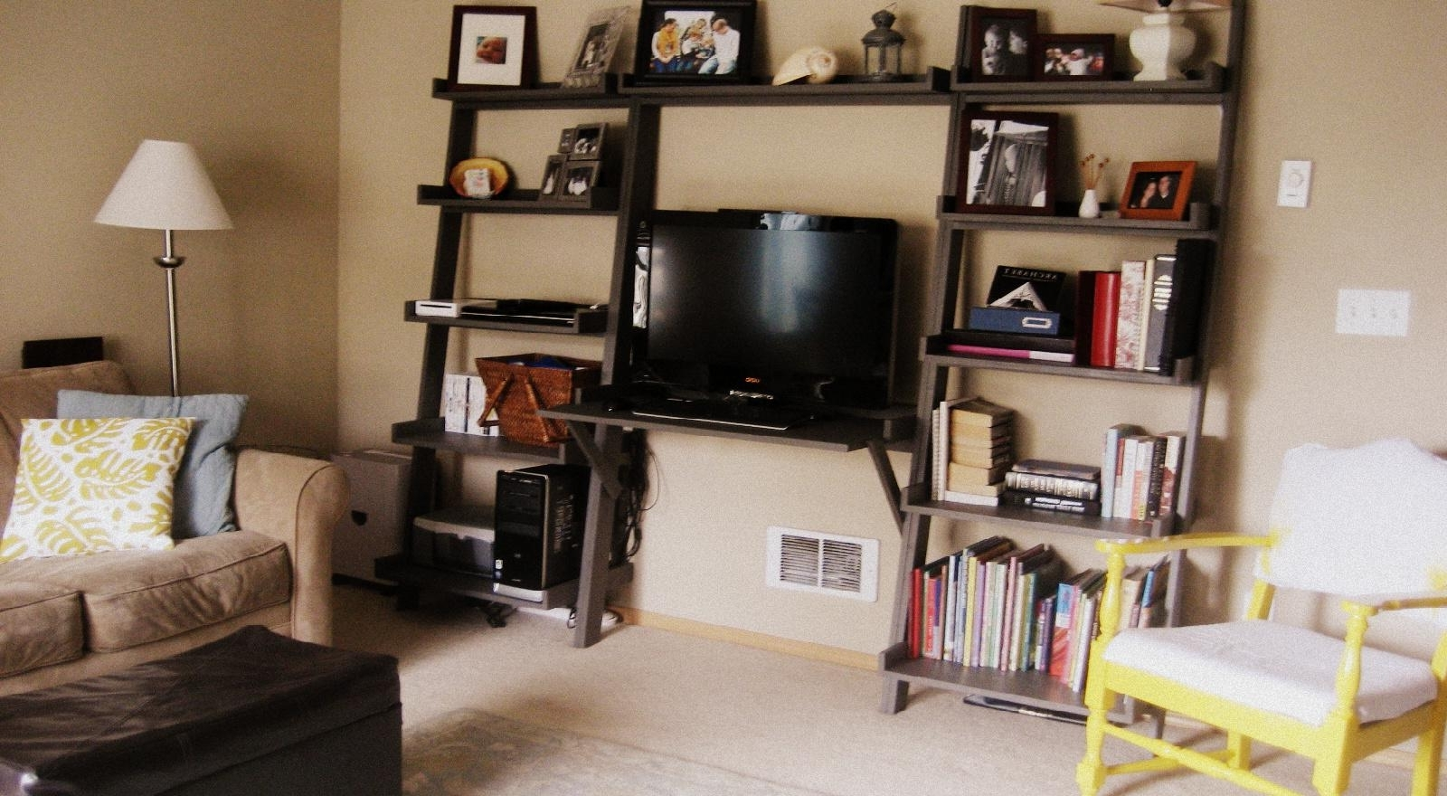 Leaning Wall Media Center – Diy Projects (View 11 of 15)