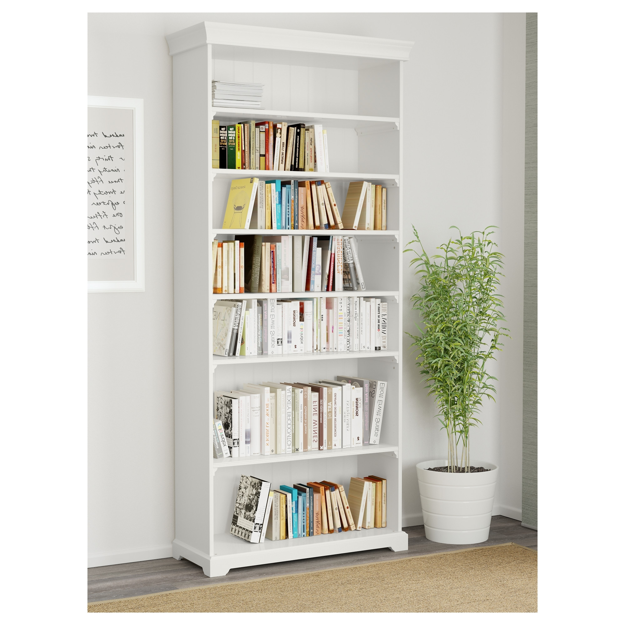 Liatorp Bookcases For Fashionable Liatorp Bookcase White 96X214 Cm – Ikea (View 3 of 15)
