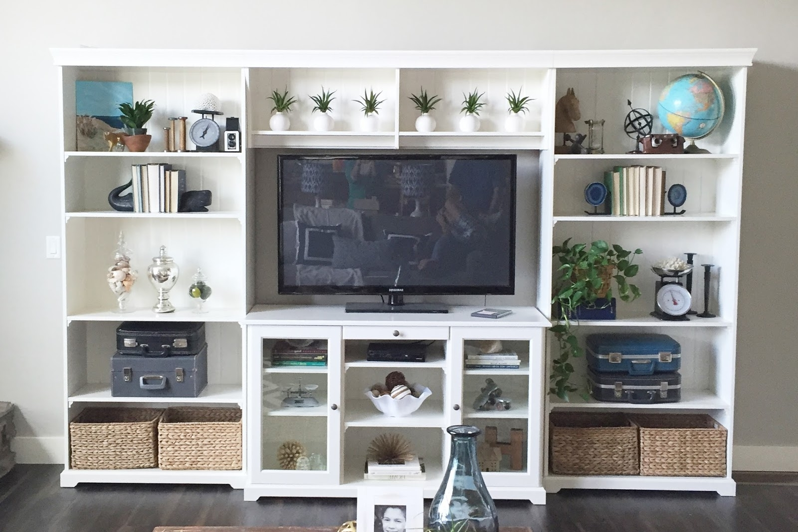 Liatorp Bookcases With Recent How To Style The Ikea Liatorp Bookshelves! (View 8 of 15)
