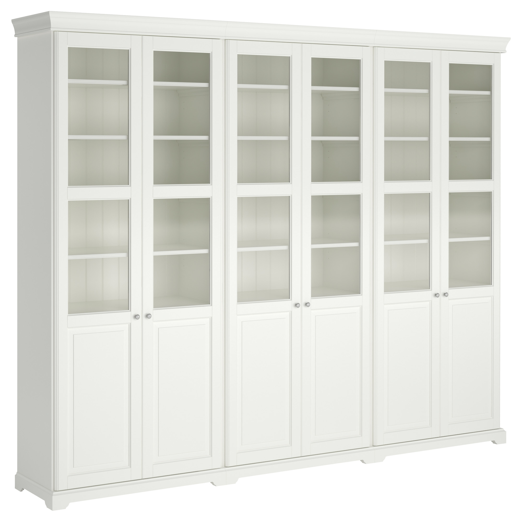 Liatorp Storage Combination With Doors – Ikea With Regard To Well Known Storage Bookcases (View 5 of 15)