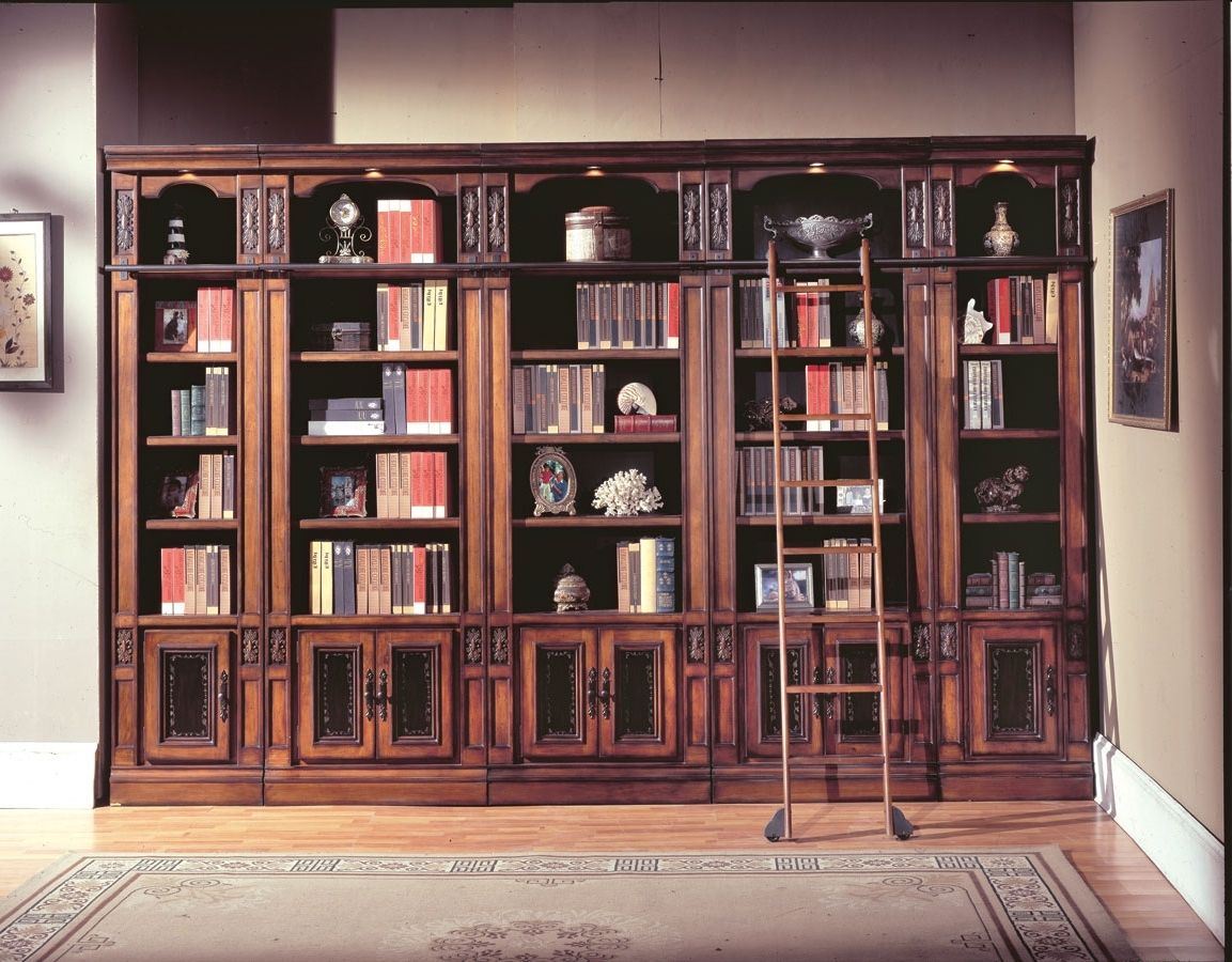 Library Bookcases Pertaining To 2018 Parker House Davinci Library Bookcases Ph Dav420 430 6 At (View 2 of 15)
