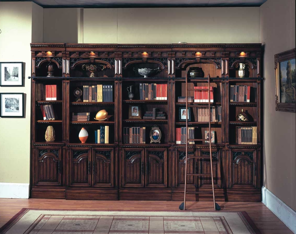 Library Bookcases With Regard To Well Known Such Beautiful Cabinets (View 4 of 15)
