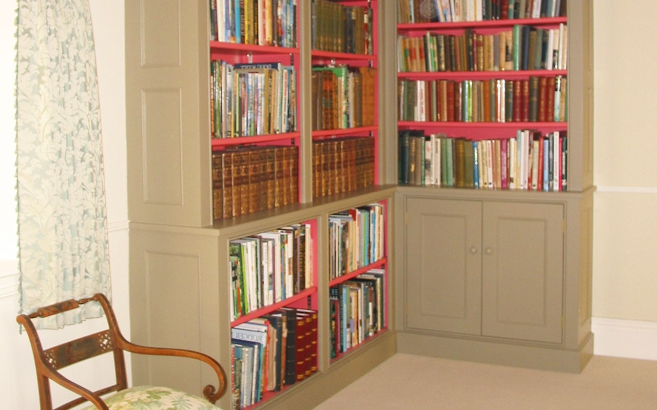 Library Cupboards For Well Known Wooden Cupboards And Shelves, Joinery In London (View 6 of 15)