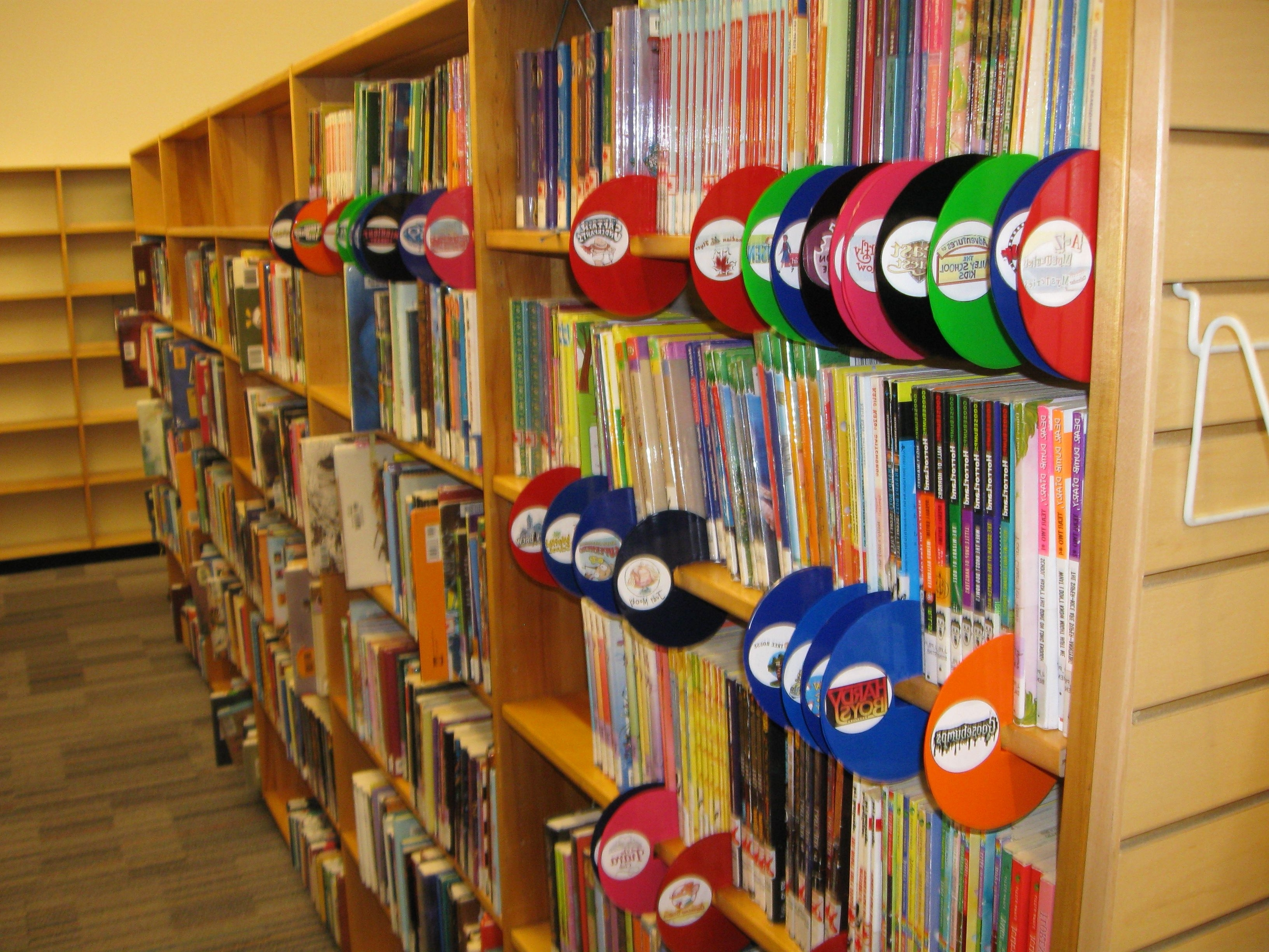 Featured Photo of Library Shelf Dividers