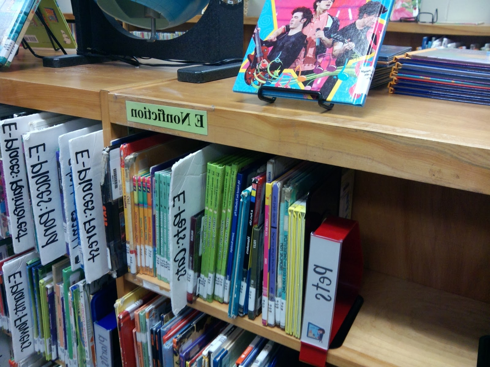 Library Media Specialist Help Desk: No More Dewey – Part 4 In Most Recently Released Library Shelf Dividers (View 6 of 15)