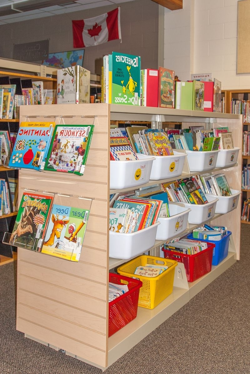 Library Shelf Dividers Pertaining To Recent A School Library Transformed – Part 6: Easy Street (View 9 of 15)