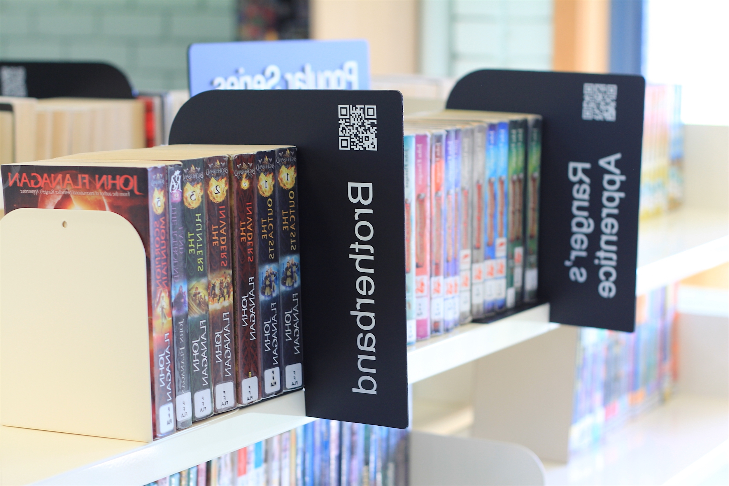 Library Shelf Dividers Regarding 2018 Section Dividers – Merchandising Libraries (View 10 of 15)