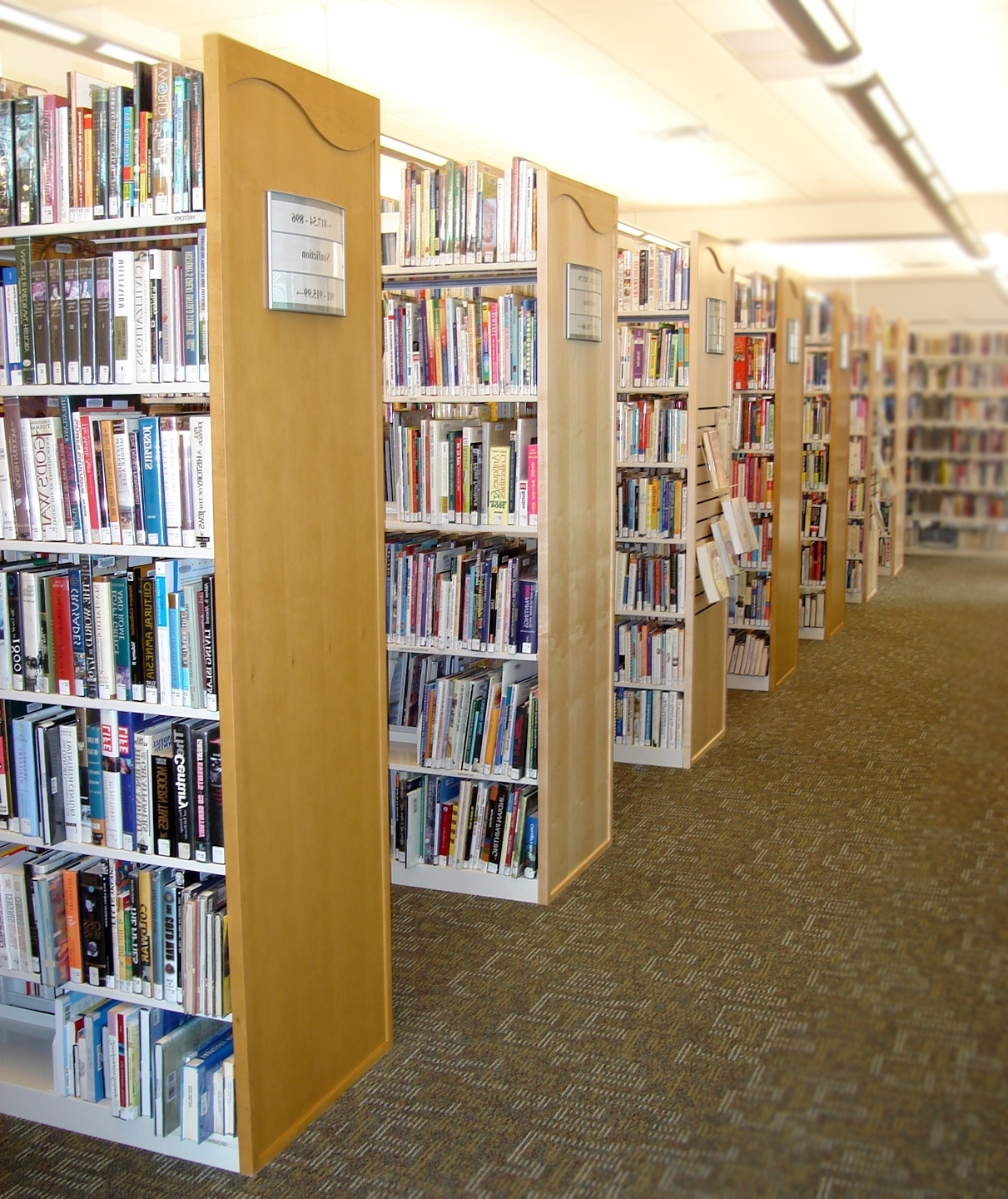 Featured Photo of Library Shelfs