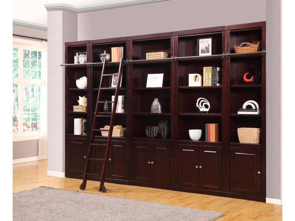 Library Wall Units Bookcases In Favorite Expanded Library Wall Unit (View 4 of 15)