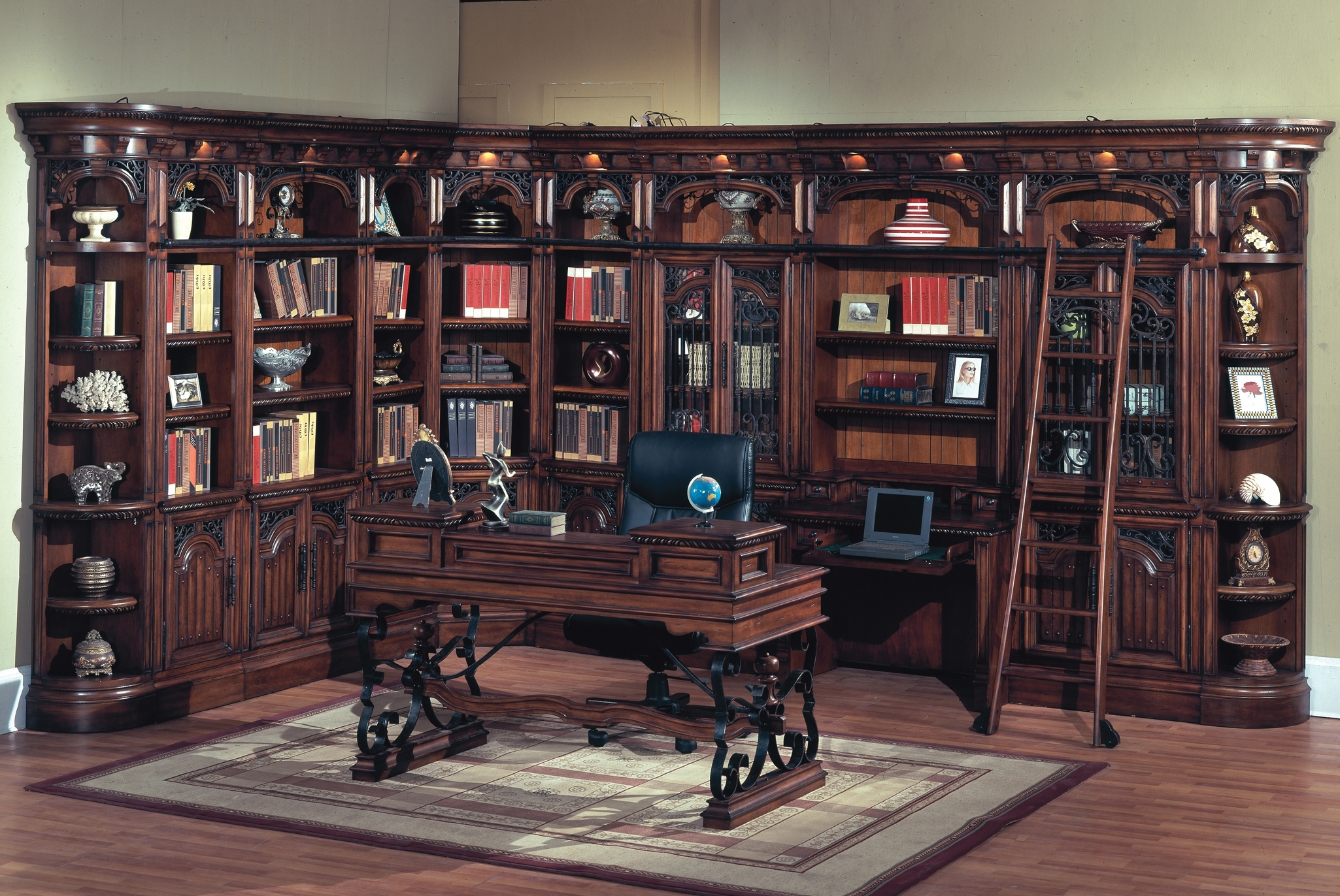 Featured Photo of Library Wall Units Bookcases