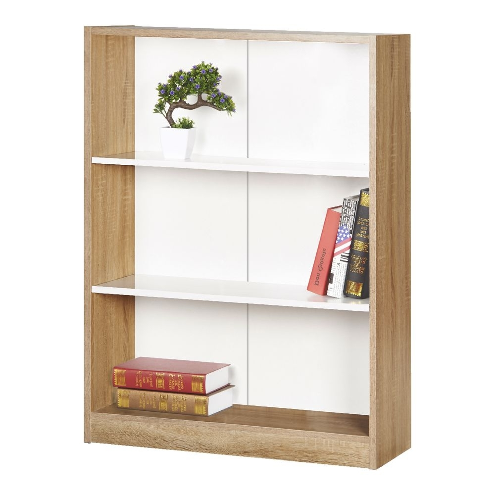 Lockable Bookcases For Popular Furniture : Two Shelf Bookcase Lockable  Bookcase Dark Wood (Gallery 8