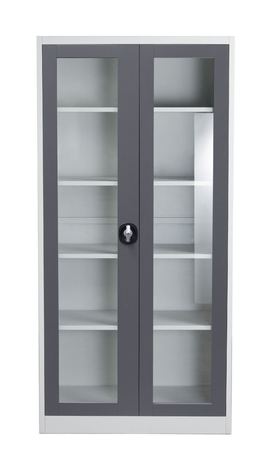 Lockable Bookcases Within Recent Amazon: 2 Door Bookcase: Home Improvement (View 12 of 15)