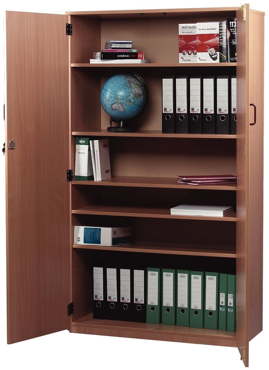 Locking Bookcases With Regard To Latest Bookcases And Stock Cupboards (View 11 of 15)