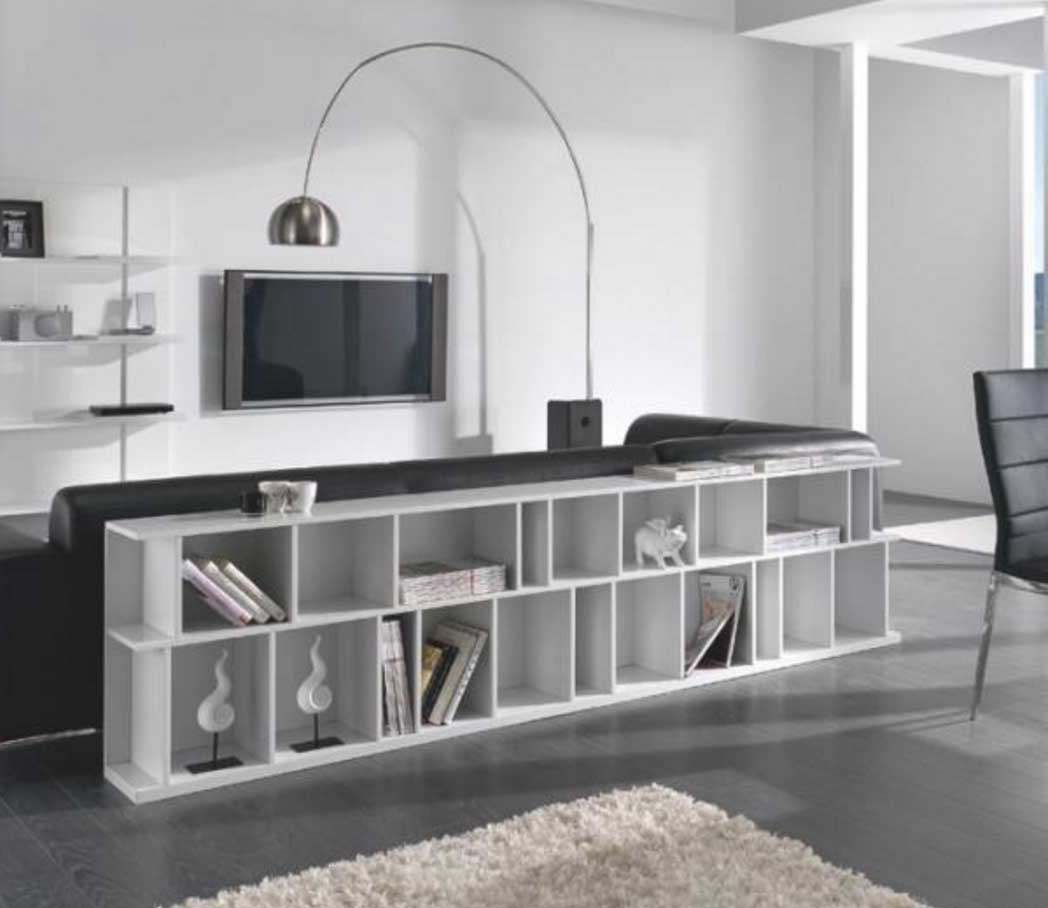 Long Horizontal Bookcases Pertaining To Preferred Long Horizontal Bookcase In White Color Ideas (View 2 of 15)