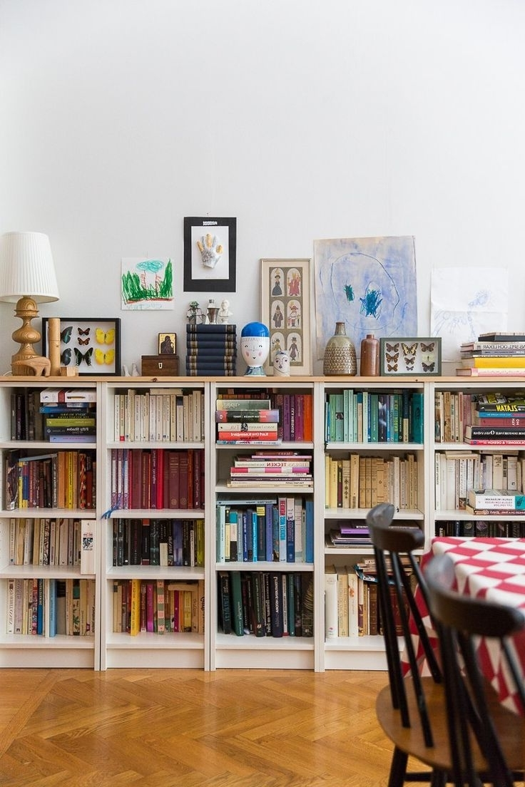 Low Bookcases In Favorite Small Bookcase With Doors Bookcases Bakingow For Spaces Furniture (View 9 of 15)