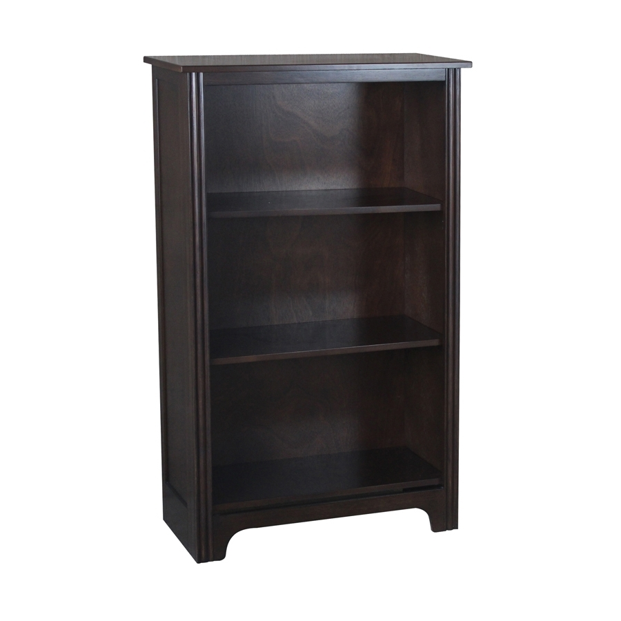Lowes Bookcases Pertaining To Most Recently Released Shop Bookcases At Lowes (View 9 of 15)