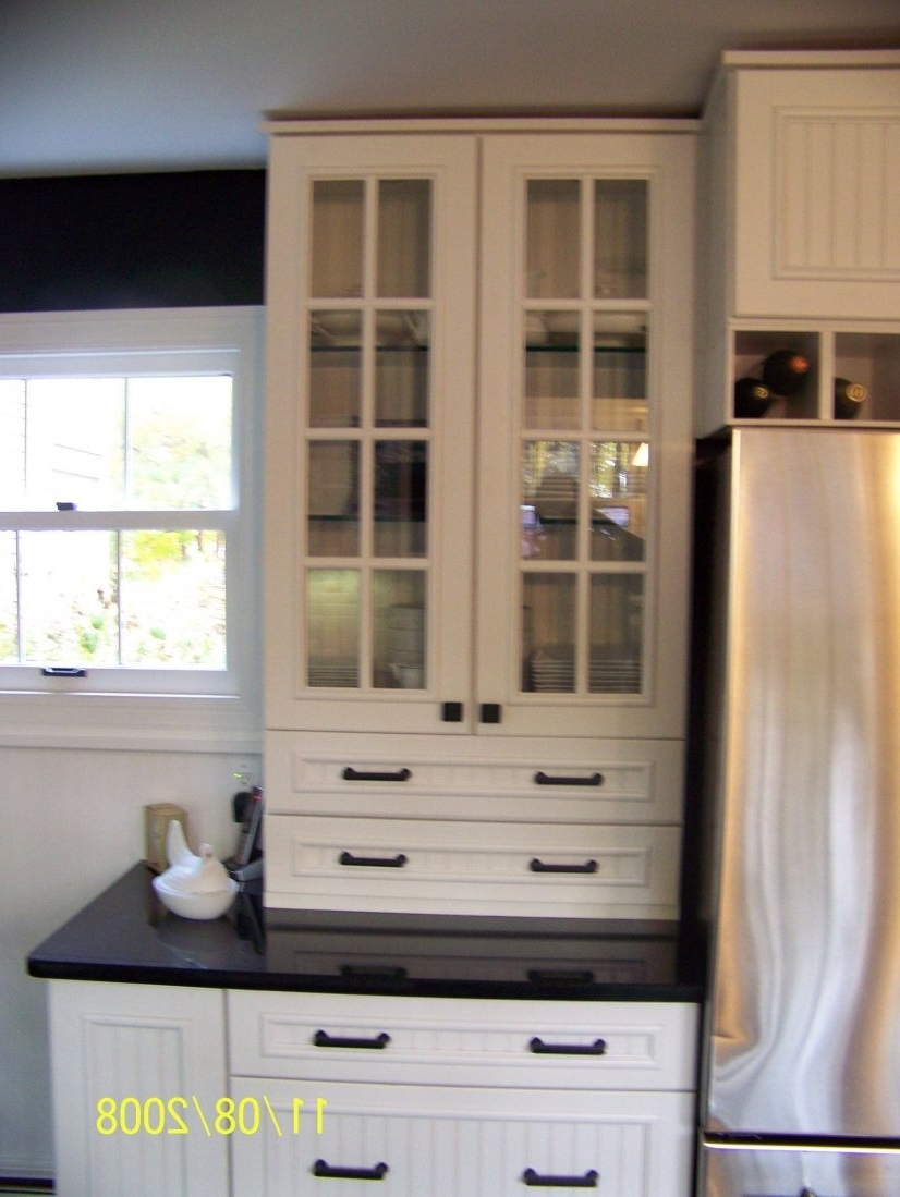 Made To Measure Cabinets Intended For Current 84 Most Better Kitchen Cabinets With Glass Doors On Top Cabinet (View 7 of 15)