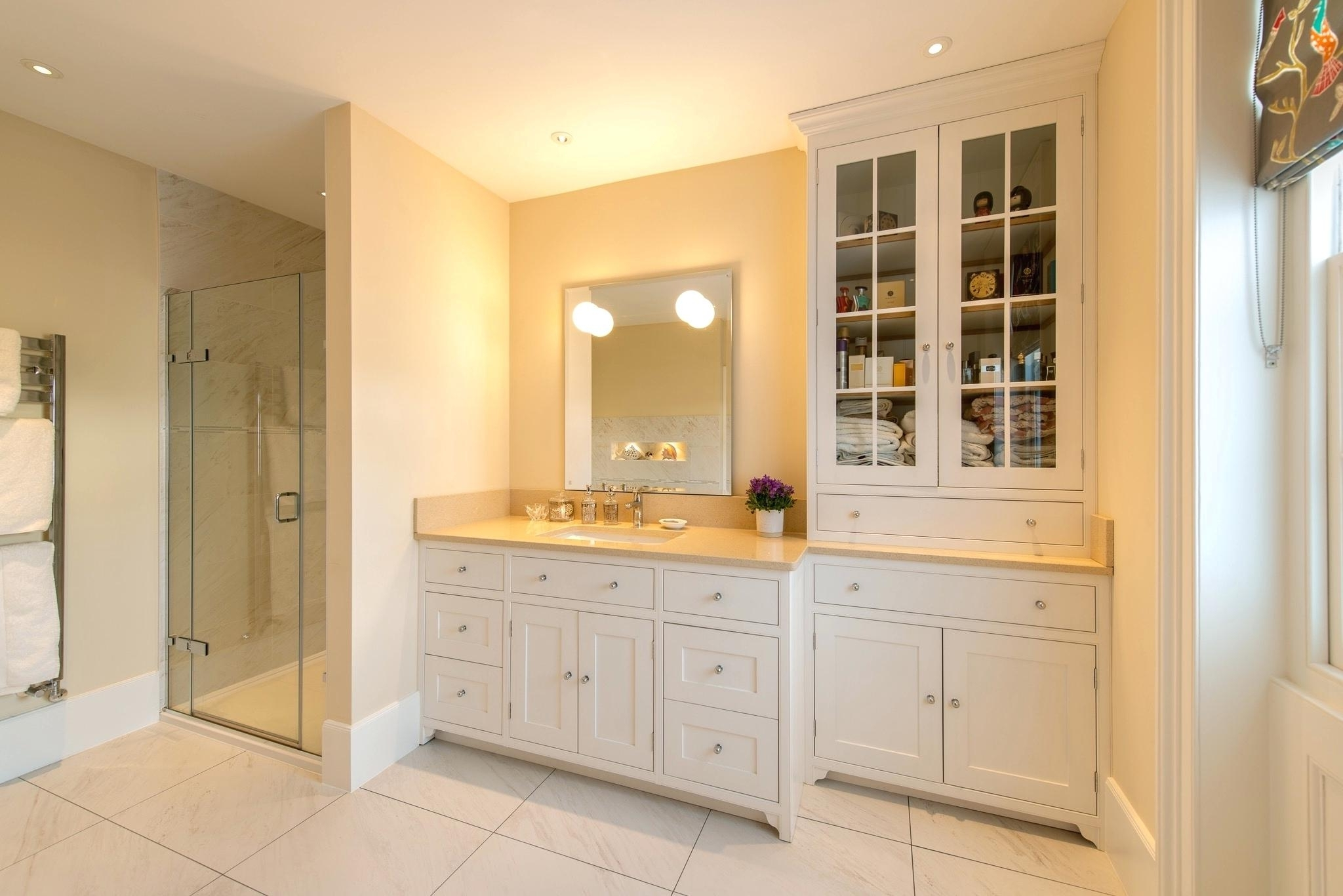 Made To Measure Cabinets Throughout Most Recent Bespoke Bathroom Cabinets Northern Ireland Made To Measure (View 4 of 15)