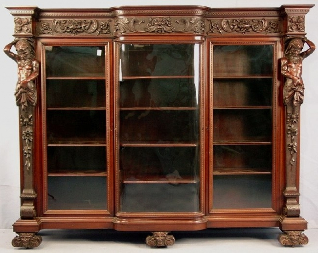 Mahogany Bookcases For Preferred Mahogany Bookcases For Sale, Antique Furniture Bookcase Decorating (View 5 of 15)