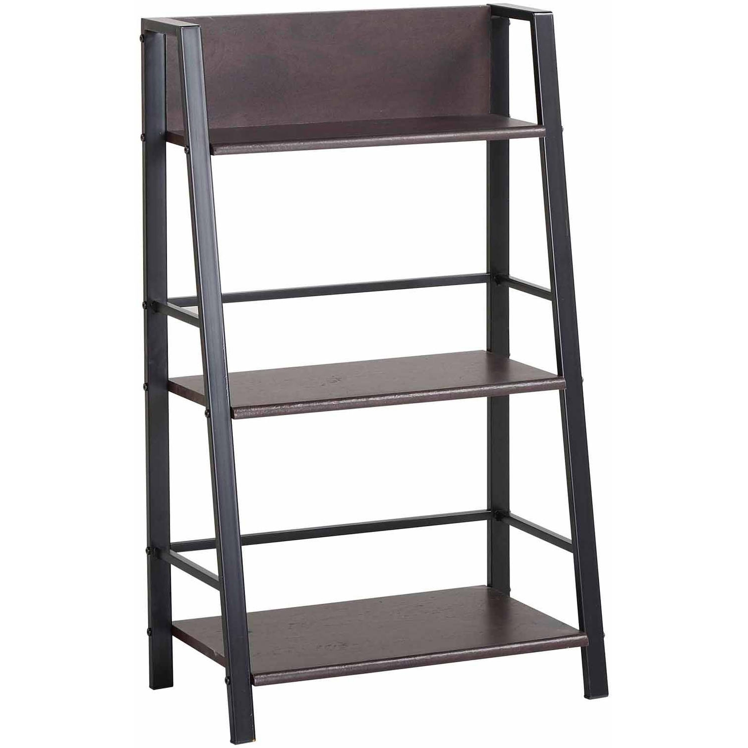 Mainstays 3 Shelf Bookcase, Multiple Finishes – Walmart Throughout 2018 Walmart 3 Shelf Bookcases (View 2 of 15)