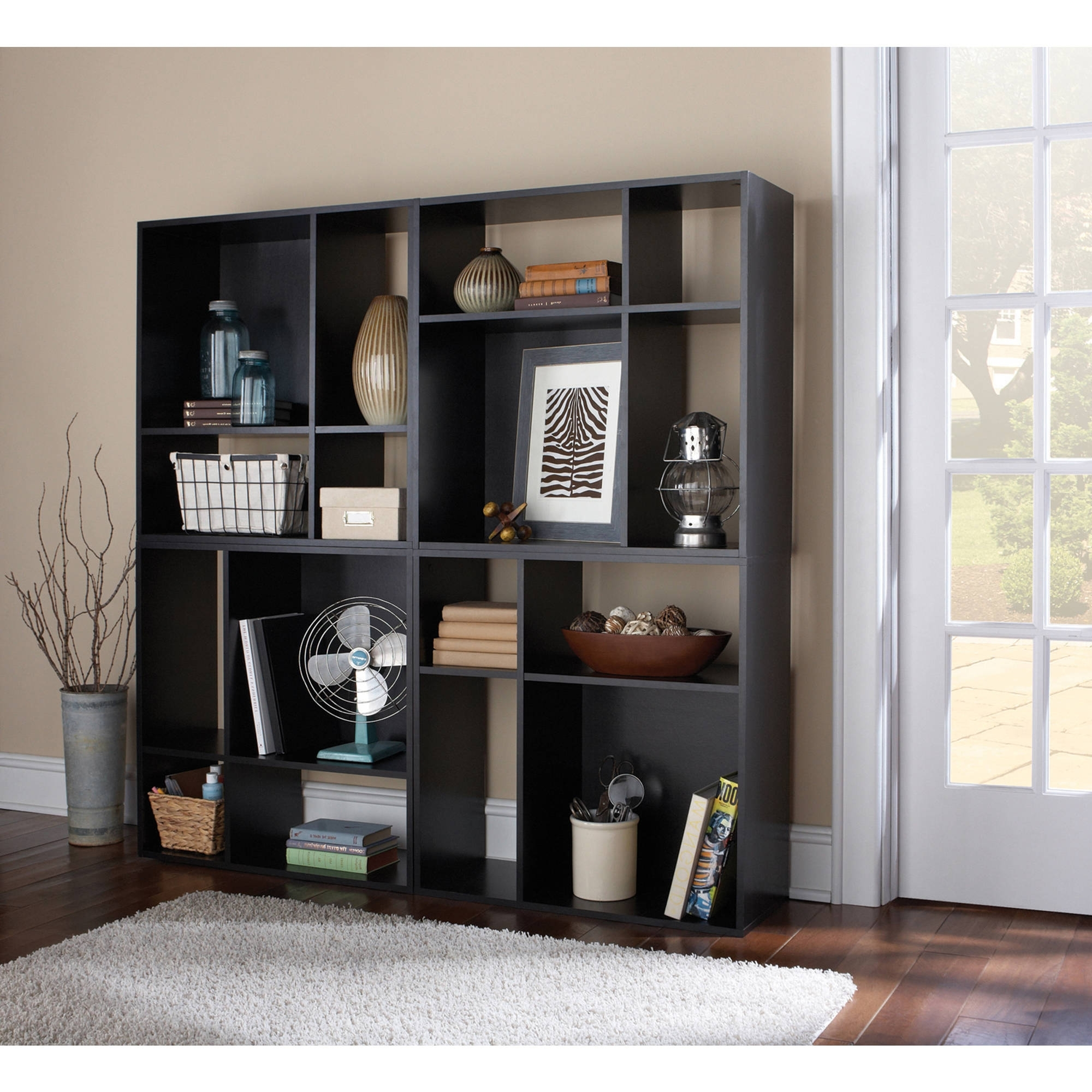 Mainstays 5 Shelf Bookcases Within Popular Home Furniture Storage Book Shelfs Shelving And Bookcases 4 Cube (View 8 of 15)