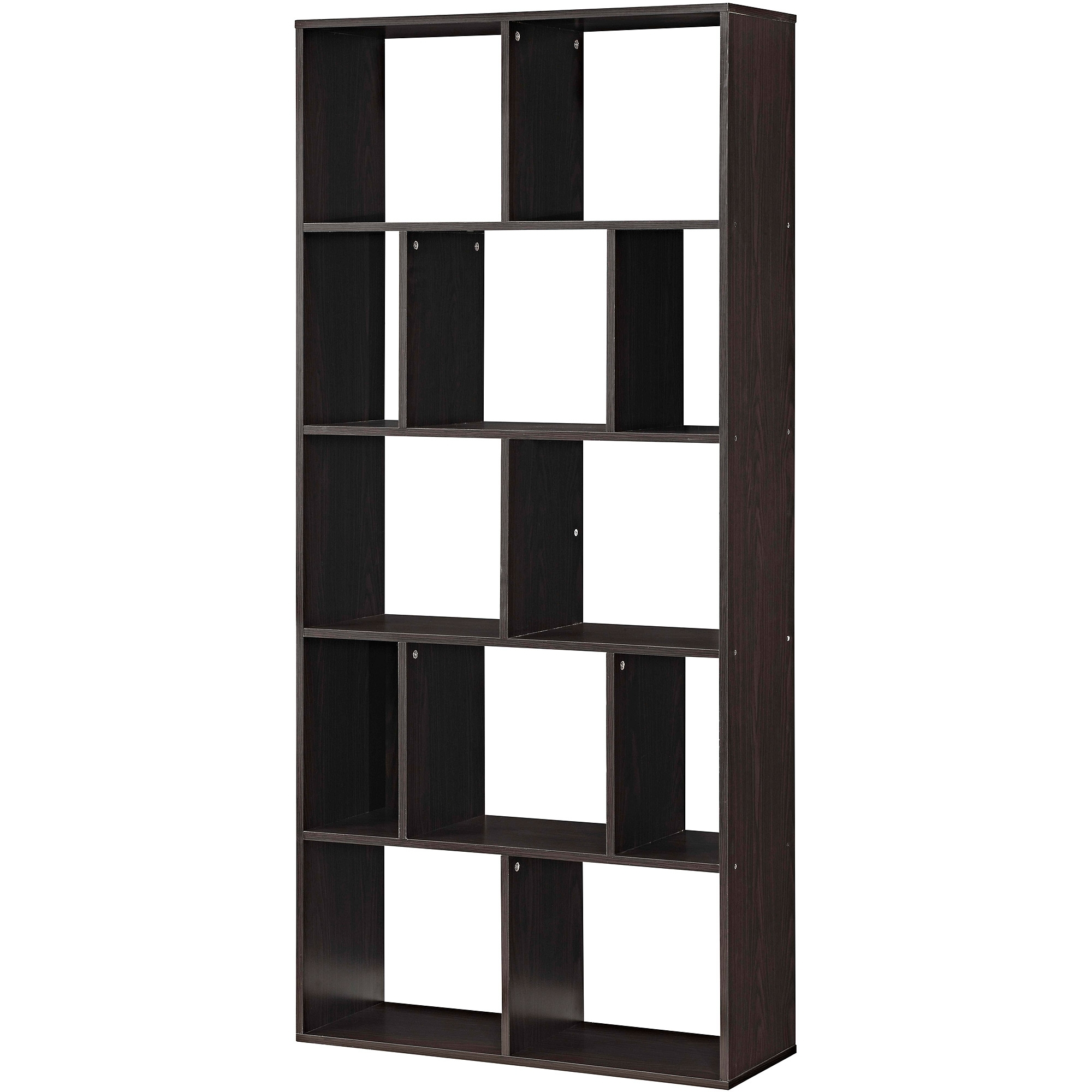 Mainstays Home 12 Shelf Cube Bookcase, Multiple Finishes – Walmart With Regard To Most Popular Cube Bookcases (View 10 of 15)