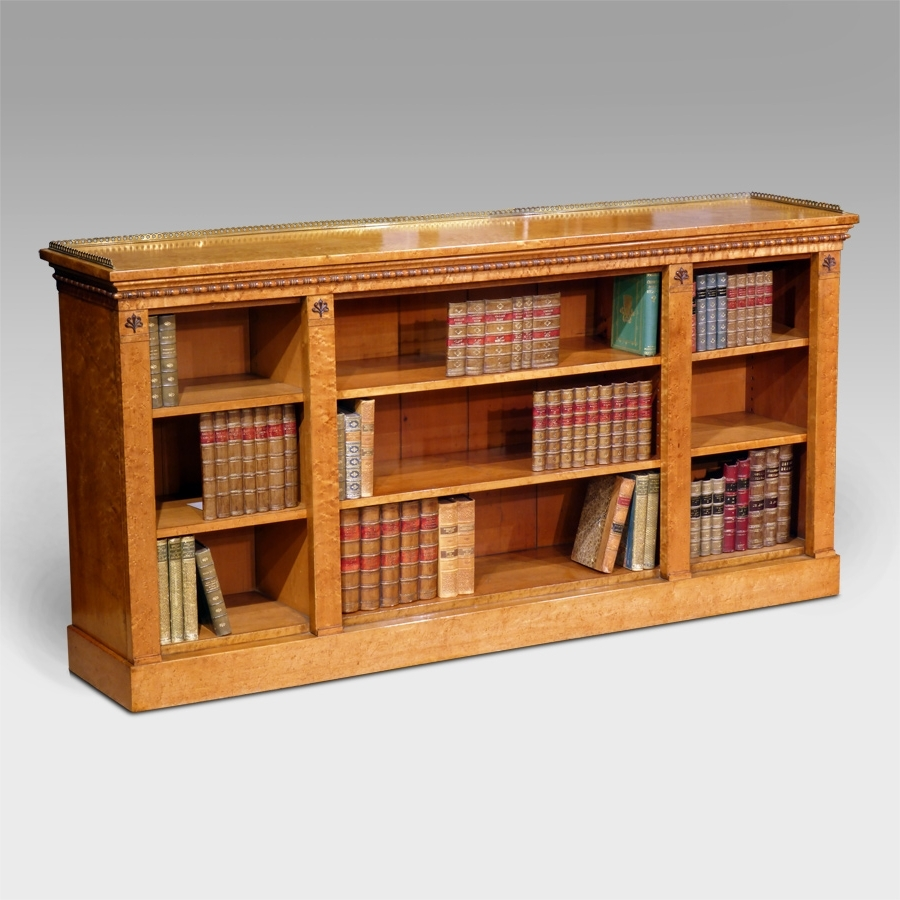 Maple Bookcases With Favorite Antique Dwarf Bookcase, Antique Breakfront Bookcase, Antique Open (View 9 of 15)