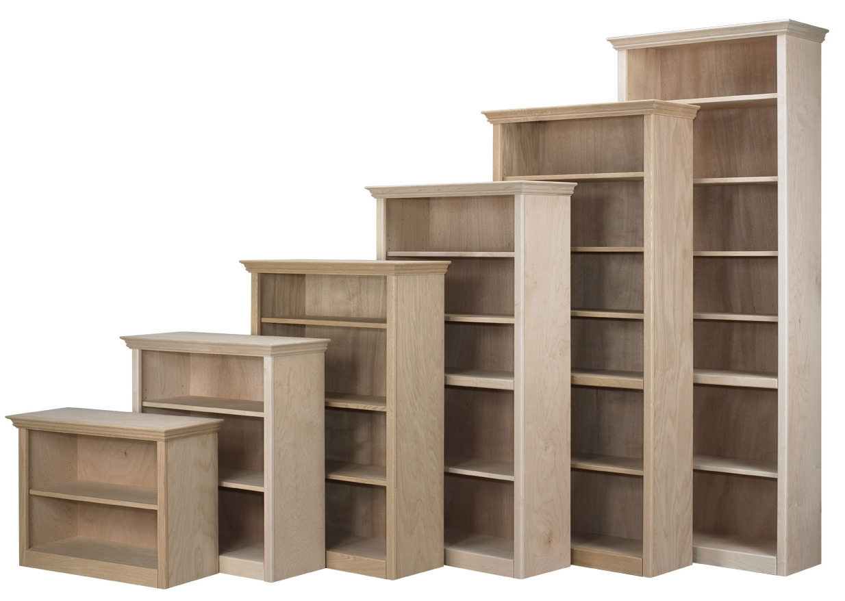 Maple Nola Bookcases 72 High Regarding 2017 Unfinished Wood Bookcases (View 13 of 15)