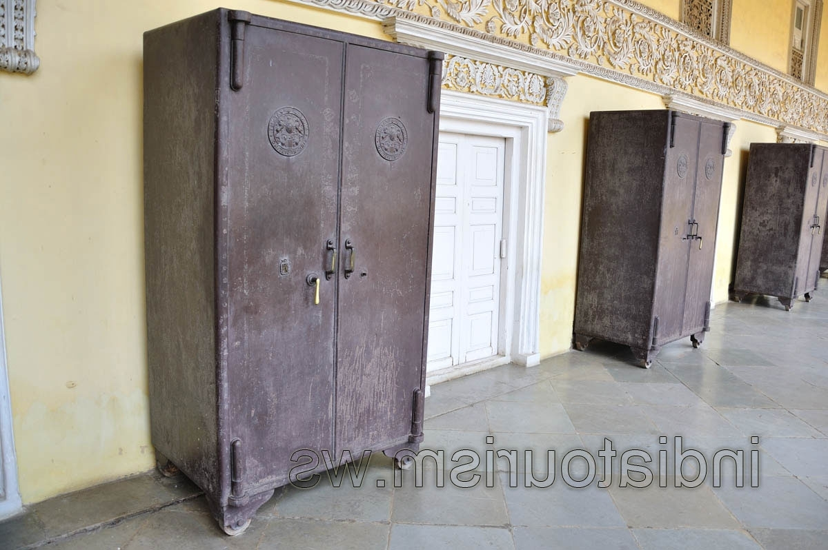 Metal Wardrobes – Chowmahalla Palace – Hyderabad – Andhra Pradesh With Regard To Most Up To Date Metal Wardrobes (View 10 of 15)