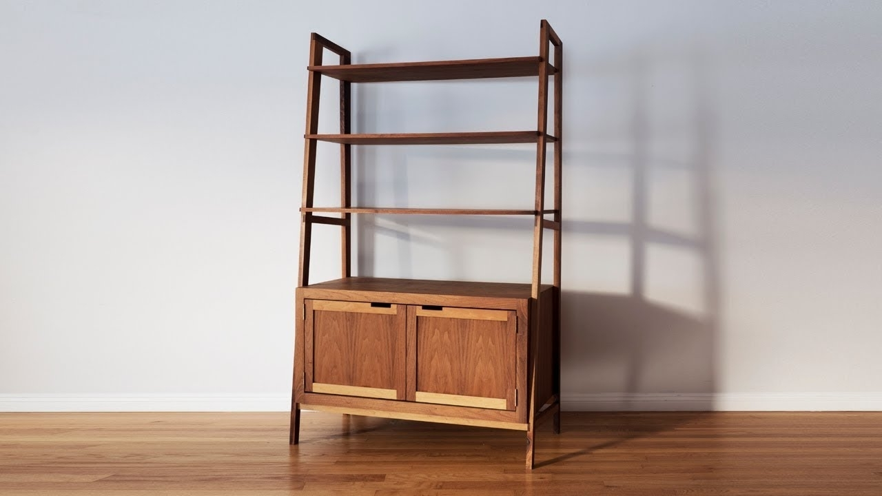 Mid Century Modern Bookcases In Widely Used How To Make A Mid Century Modern Bookcase (View 7 of 15)